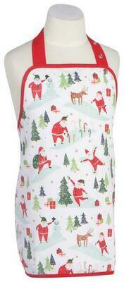 Now Designs Kids Apron - Must Be Santa