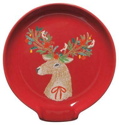 Now Designs Spoon Rest - Dasher Deer