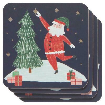 Now Designs Coasters - Must Be Santa