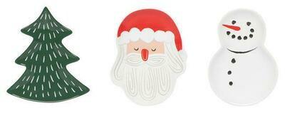 Now Designs Plate Set - Must Be Santa