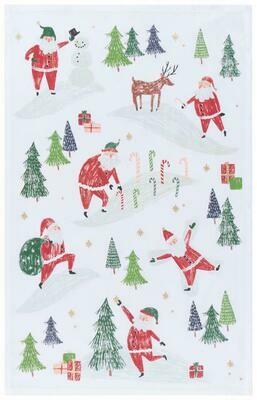 Now Designs Towel - Must Be Santa