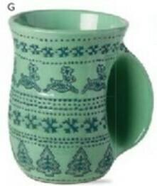 Tag Handwarmer Mug - Sugar & Spice Green