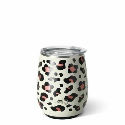 Swig Insulated Stemless Wine - Luxy Leopard