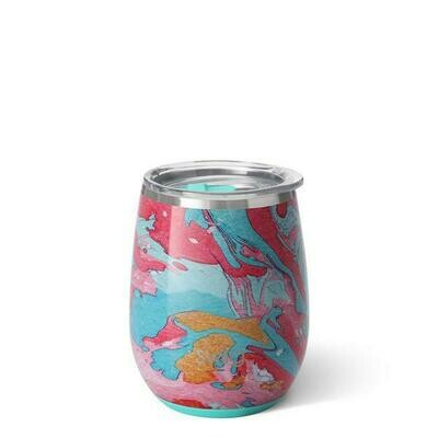 Swig Insulated Stemless Wine - Cotton Candy
