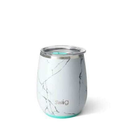 Swig Insulated Stemless Wine - Marble Slab