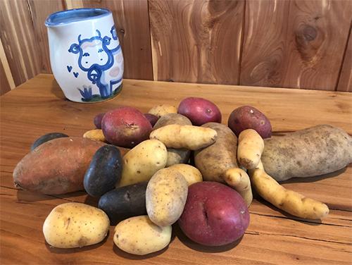 Gourmet Mix Potato Box 5 lb