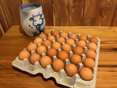 Blue Sky Cage Free Eggs 30ct Flat