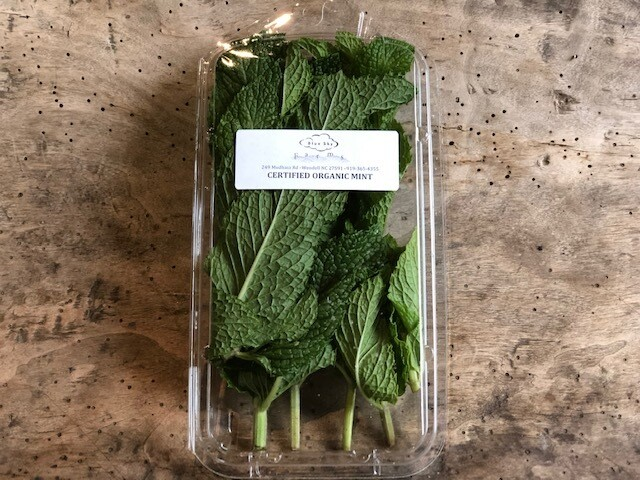 Certified Organic Blue Sky Mint ~ 1 oz.