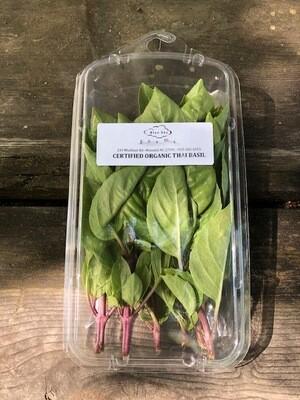Certified Organic Blue Sky Thai Basil ~ 1 oz