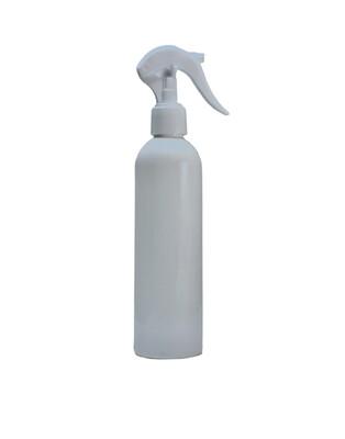 250ml PET PLastic, Trigger Spray Bottle Opaque White