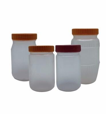 PP Plastic Jam Jars