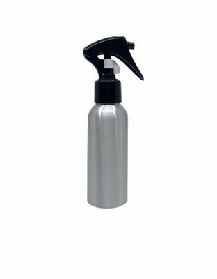 100ml, Aluminum Bottle , Trigger Spray Black