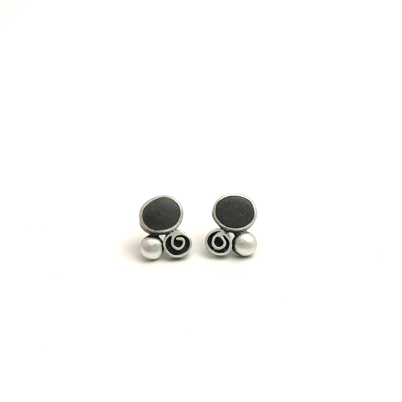 Stones+dots+swirls
