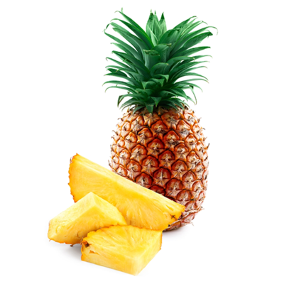 Pineapples, Gold 7ct Del Monte