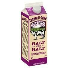 Half & Half, 1 Quart