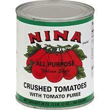 Nina Crushed Tomato, 6/#10