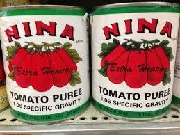 Nina Tomato Puree, 6/#10