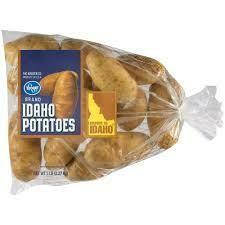Potatoes, Idaho 10/5lb. Bags