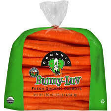 Carrots, ORGANIC 10lb BunnyLuv