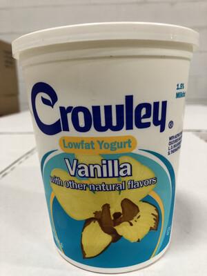 Yogurt, 32oz. Vanilla
