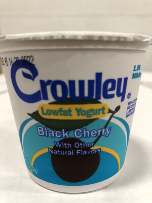 Yogurt, 6oz. Black Cherry