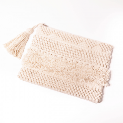 Lords & Lilies Clutch Off White