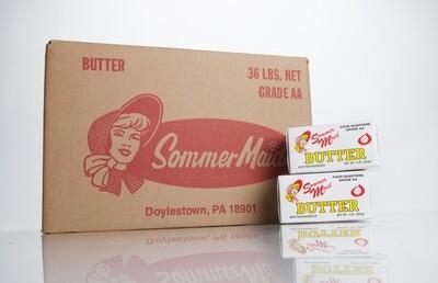 Butter 1 lb Quarters