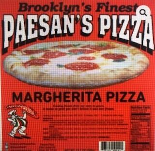 Paesan's Pizza MARGHERITA