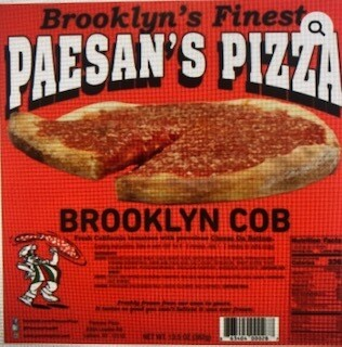 Paesan's Pizza BROOKLYN COB