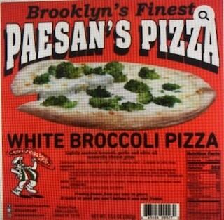 Paesan's Pizza WHITE BROCCOLI