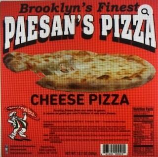 Paesan's Pizza CHEESE