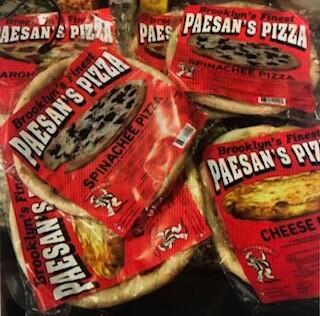 Paesan's Pizza COMBO PACK (5)