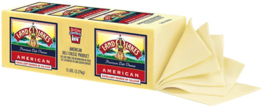 Cheese American Land o Lakes