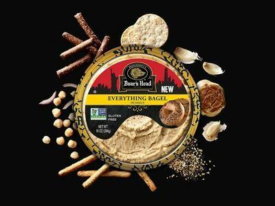 Hummus Everything Bagel BH