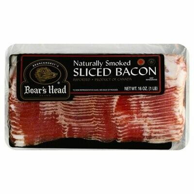 Bacon Naturally Smoked Import