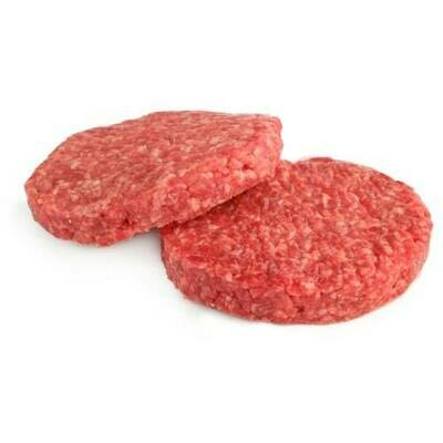 Burger Patties Fz80/20 4oz 4ct
