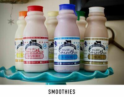 Smoothie Yogurt Raspberry 10oz