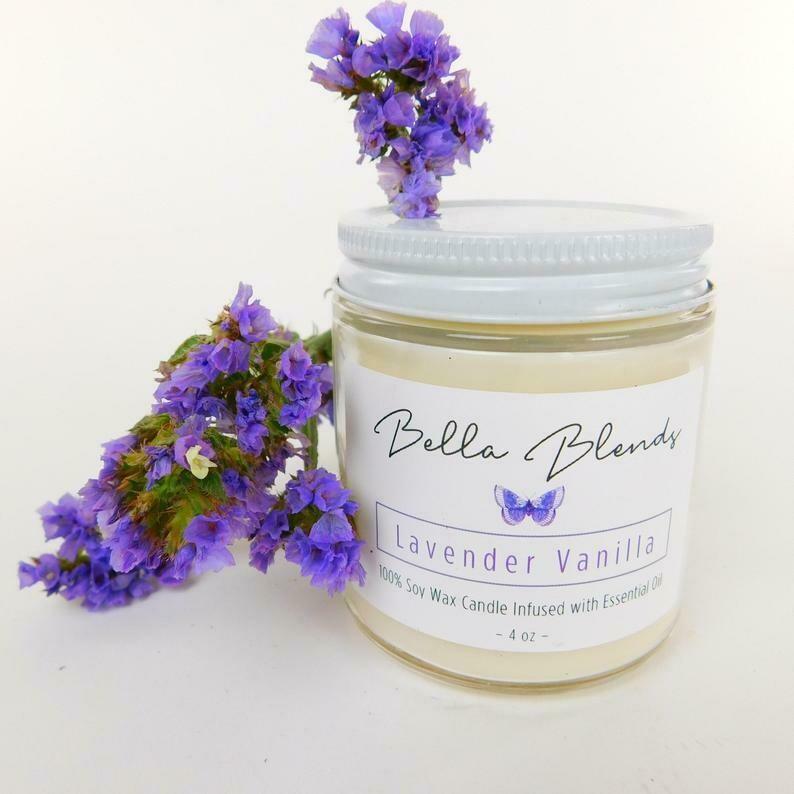 Candle Lavender Vanilla 8oz