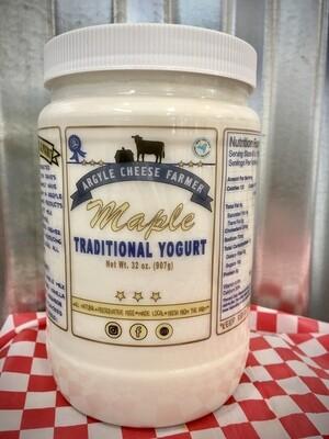 Yogurt Whole Milk Maple 32oz