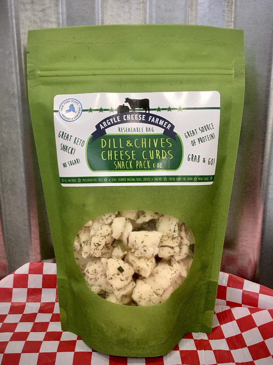Cheese Curd Dill/Chive 8oz