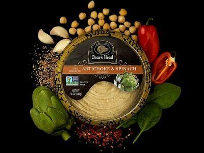 Hummus Roast Artichoke/Spinach