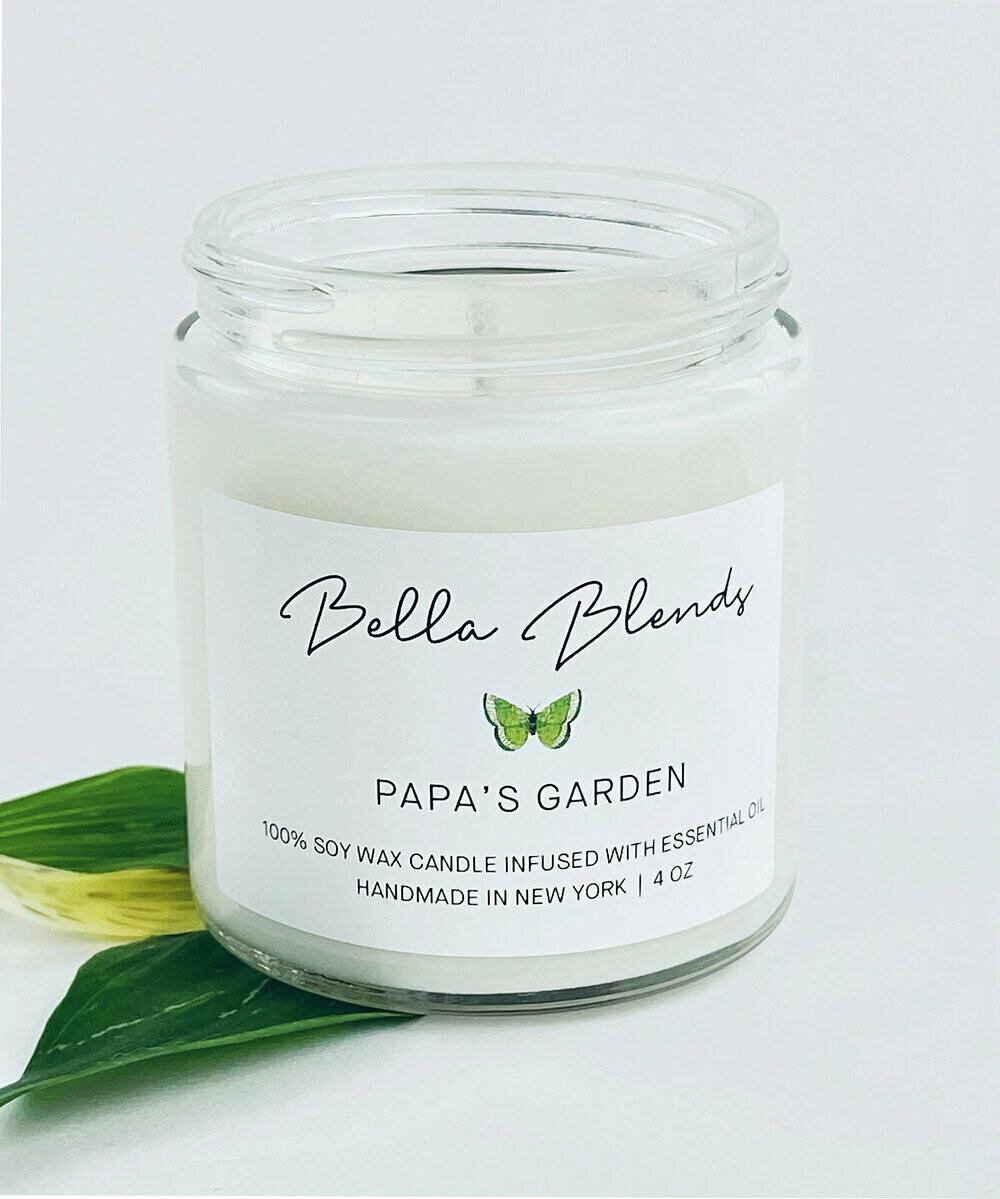 Candle Papas Garden 8oz