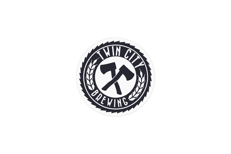 "3"" Sawblade Logo Sticker"