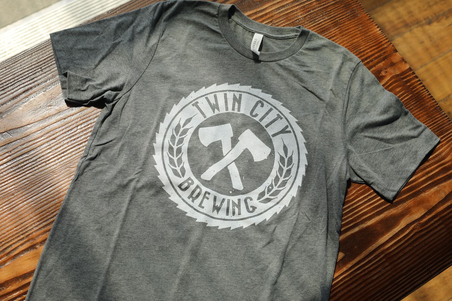 Sawblade Shirt (Heather Grey)