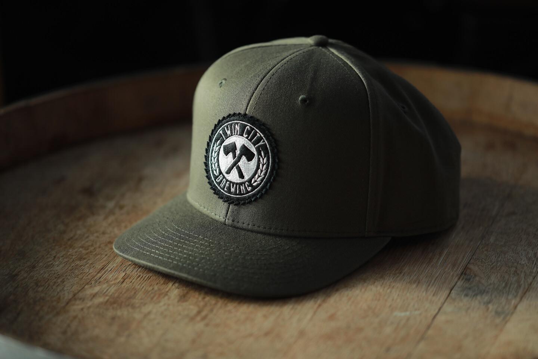 Pukka Snapback Hat (Olive)