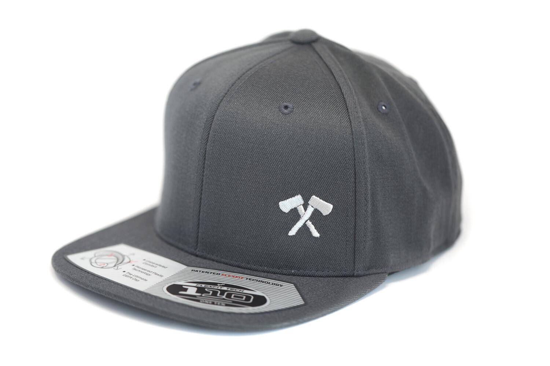 Flexfit Snapback Hat (Grey)