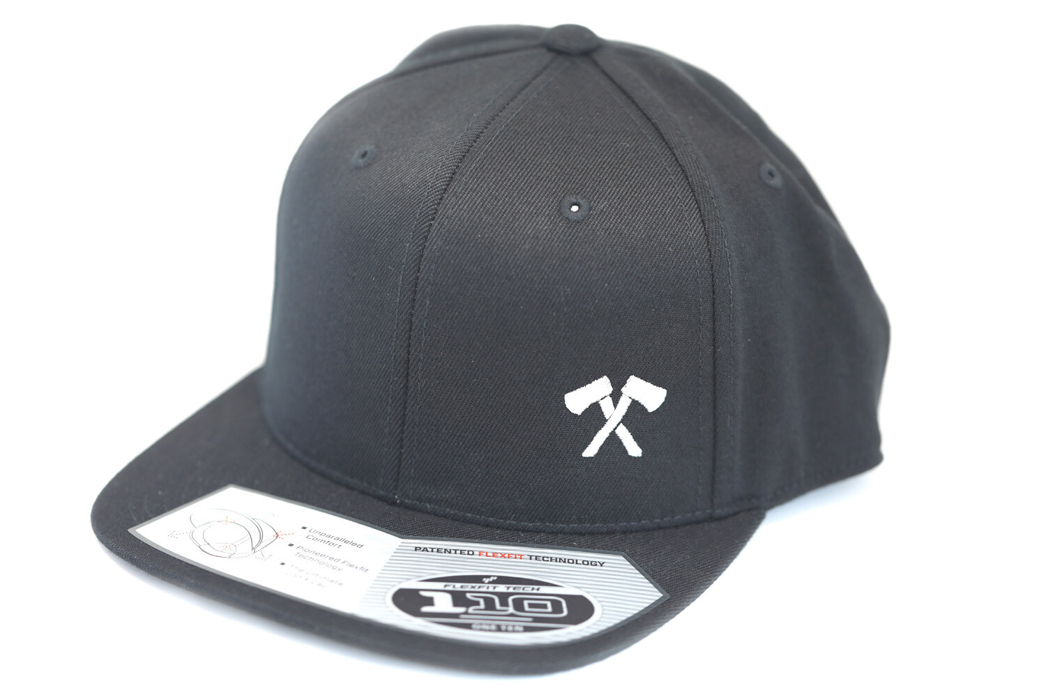 Flexfit Snapback Hat (Black)