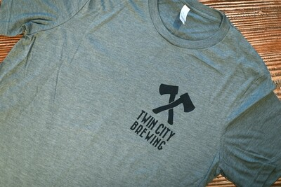 Axes & Sawblade Shirt (Army)