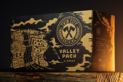 8x473ml - (Mix) Valley Pack