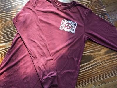 Longsleeve Shirt (Burgundy)